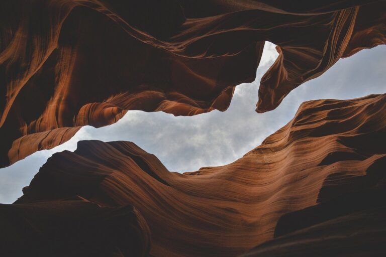 canyon, gorge, perspective